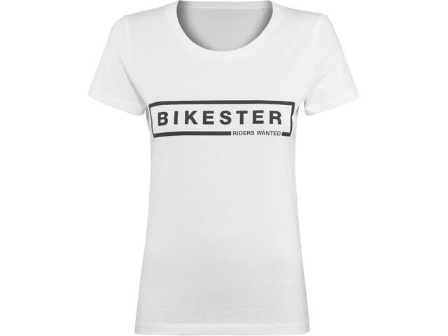 Bikester Logo Shirt Femme, white